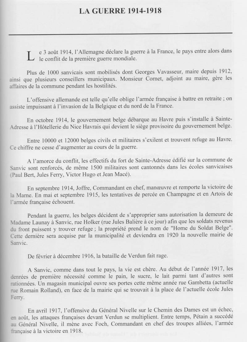 """SANVIC - Sanvic :le """"Hôme du soldat Belge"""" Sanvic15"""