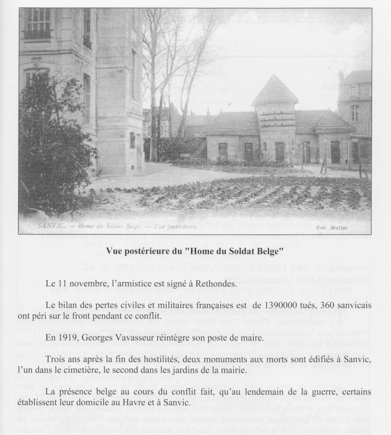 """SANVIC - Sanvic :le """"Hôme du soldat Belge"""" Sanvic16"""