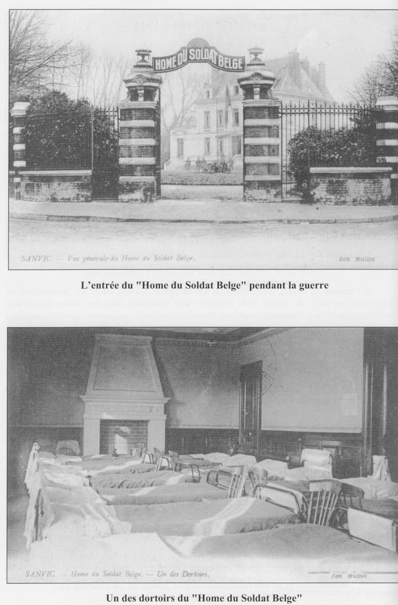 """SANVIC - Sanvic :le """"Hôme du soldat Belge"""" Sanvic17"""