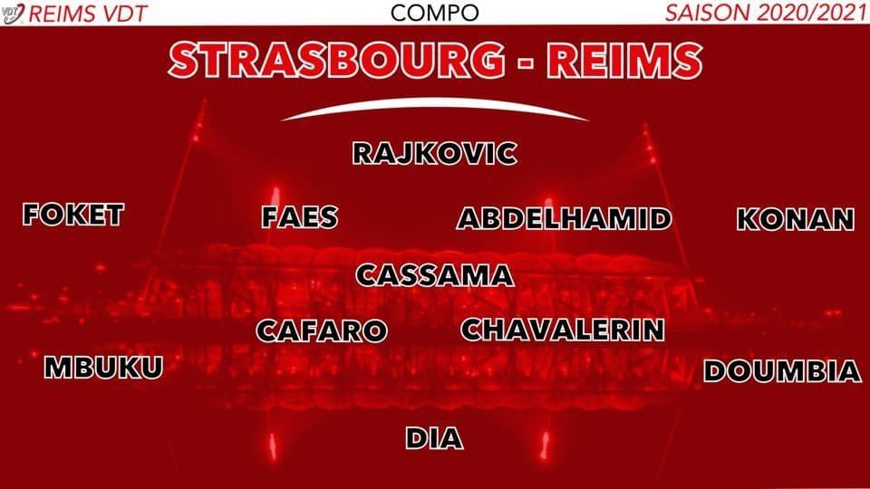 J22 : Le match Strasbourg 0-1 Reims 8238f910