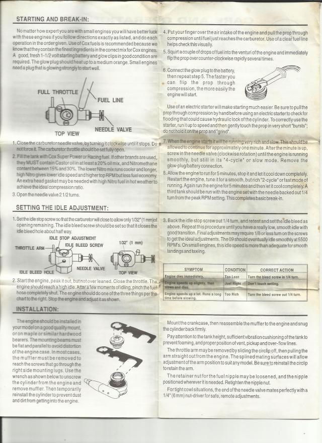 Tee Dee 09 R?C manual Td210