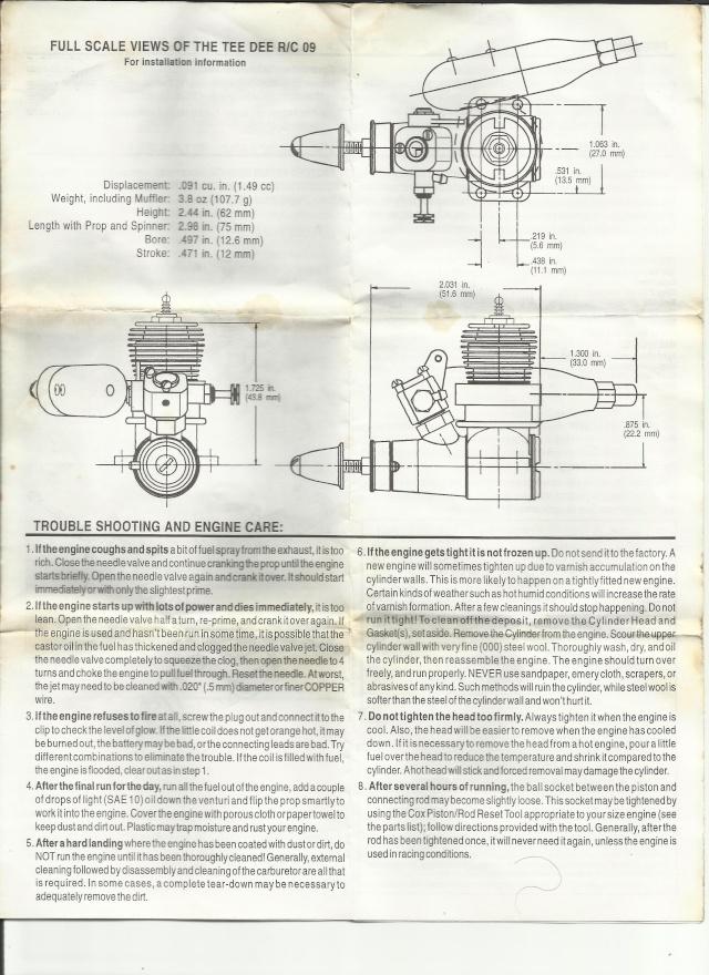 Tee Dee 09 R?C manual Td310