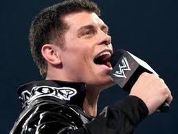 Dashing Cody Rhodes 3heures avant son match. 4510
