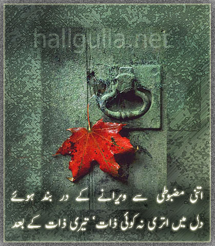 Sad Disin Shairy By Hakeem 8itnee10