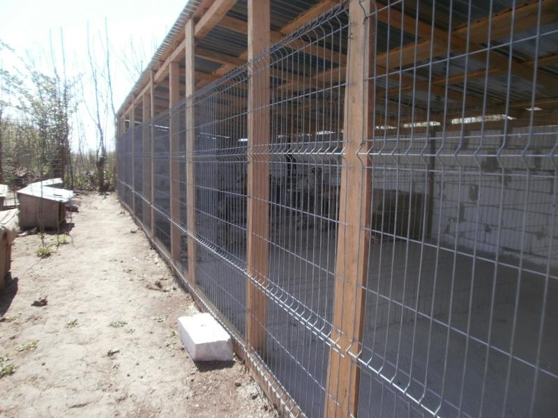 boxes - ALLEZ ON CONTINUE L'AVENTURE CONSTRUISONS LES DERNIERS  BOXES AU REFUGE DE LENUTA -  R P4240714
