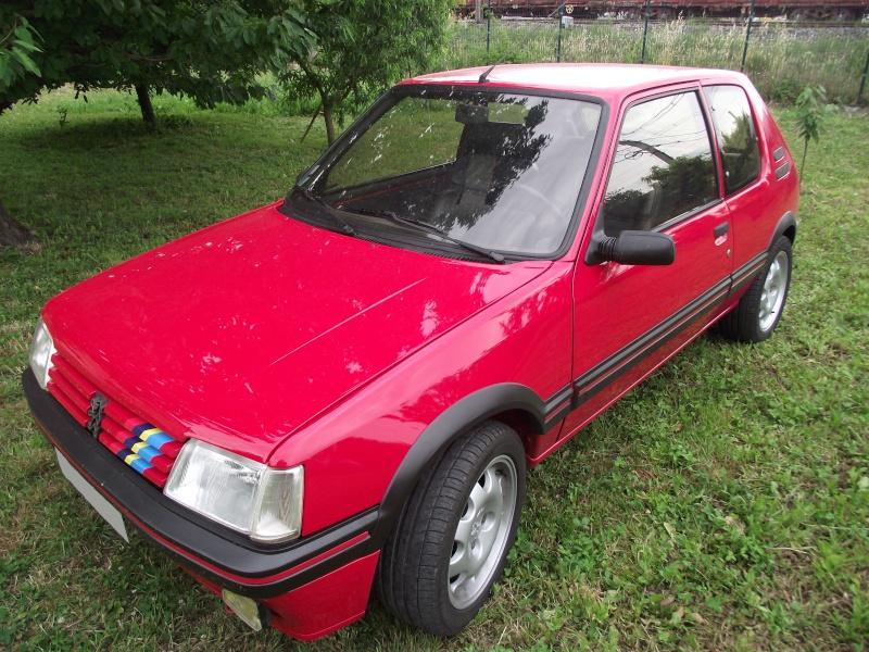 david84  205 gti 1 6l 115cv rouge vallelunga 1992