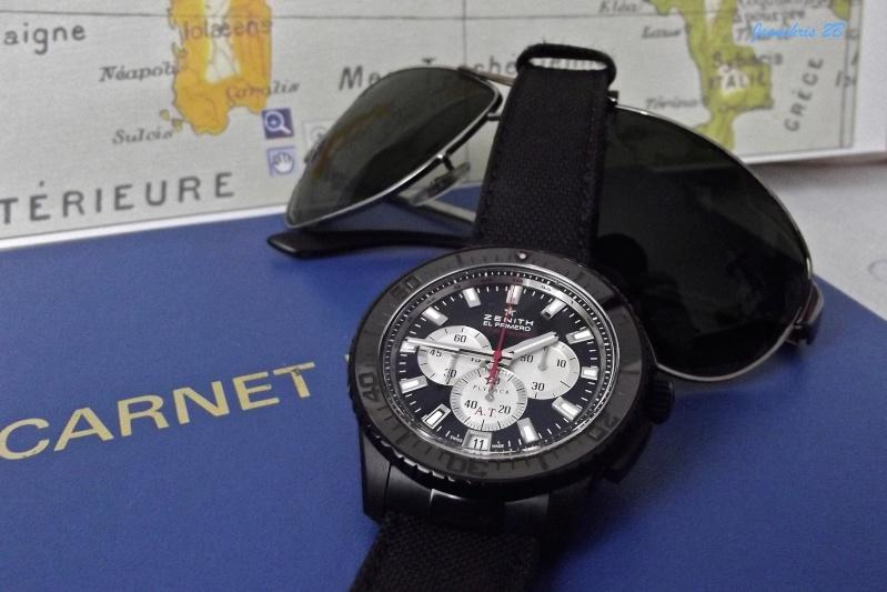 Zenith Stratos striking 10th - montre fantôme Ssfps710