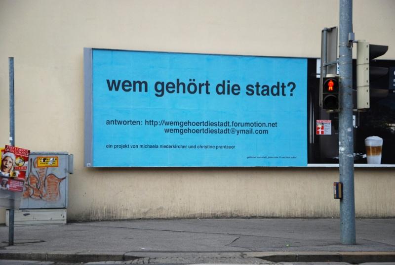 fotos von plakaten und klebern im stadtraum innsbruck Wem_ge15
