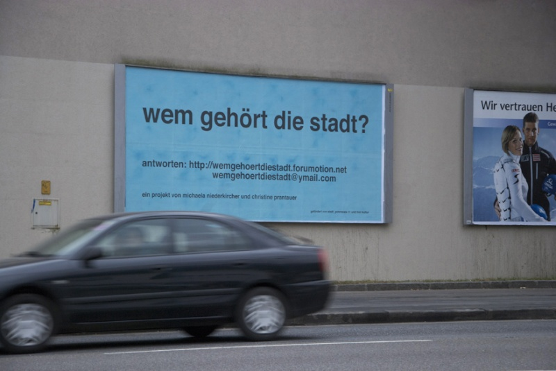 fotos von plakaten und klebern im stadtraum innsbruck Wem_ge16