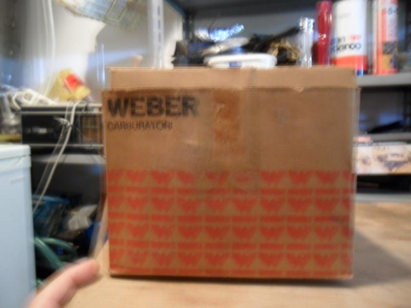 Carburatore Weber nuovo Sam_0424