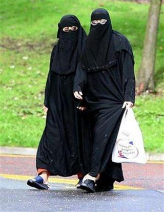 contro la costituzione Burqa110