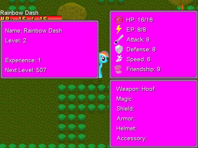 MLP FiM RPG preview Engine11