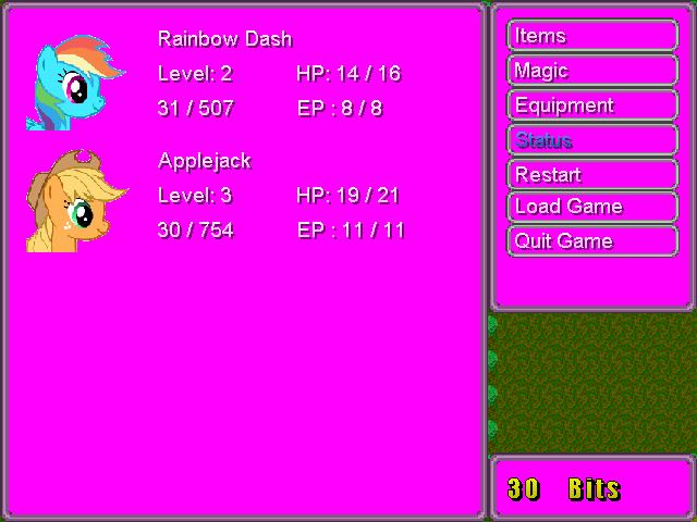 MLP FiM RPG preview Engine12