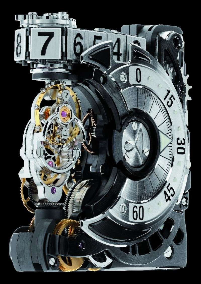 Les plus beaux calibres de montres mécaniques vintages et contemporains du monde ... - Page 2 Hautle10