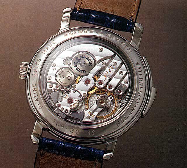 Les plus beaux calibres de montres mécaniques vintages et contemporains du monde ... - Page 2 Un1_im10