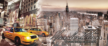 Manhattan - I want to be a part of it Banner17