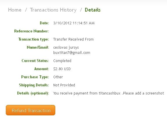 My 11th payment Titan111
