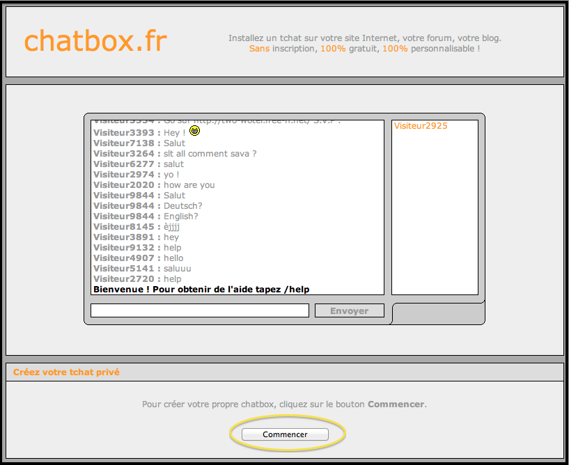 Installer une Chatbox  Captur76
