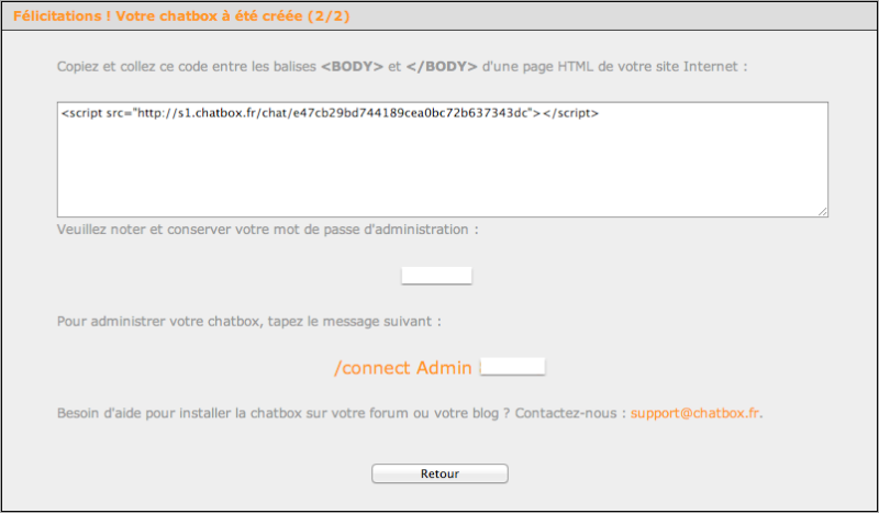 Installer une Chatbox  Captur78
