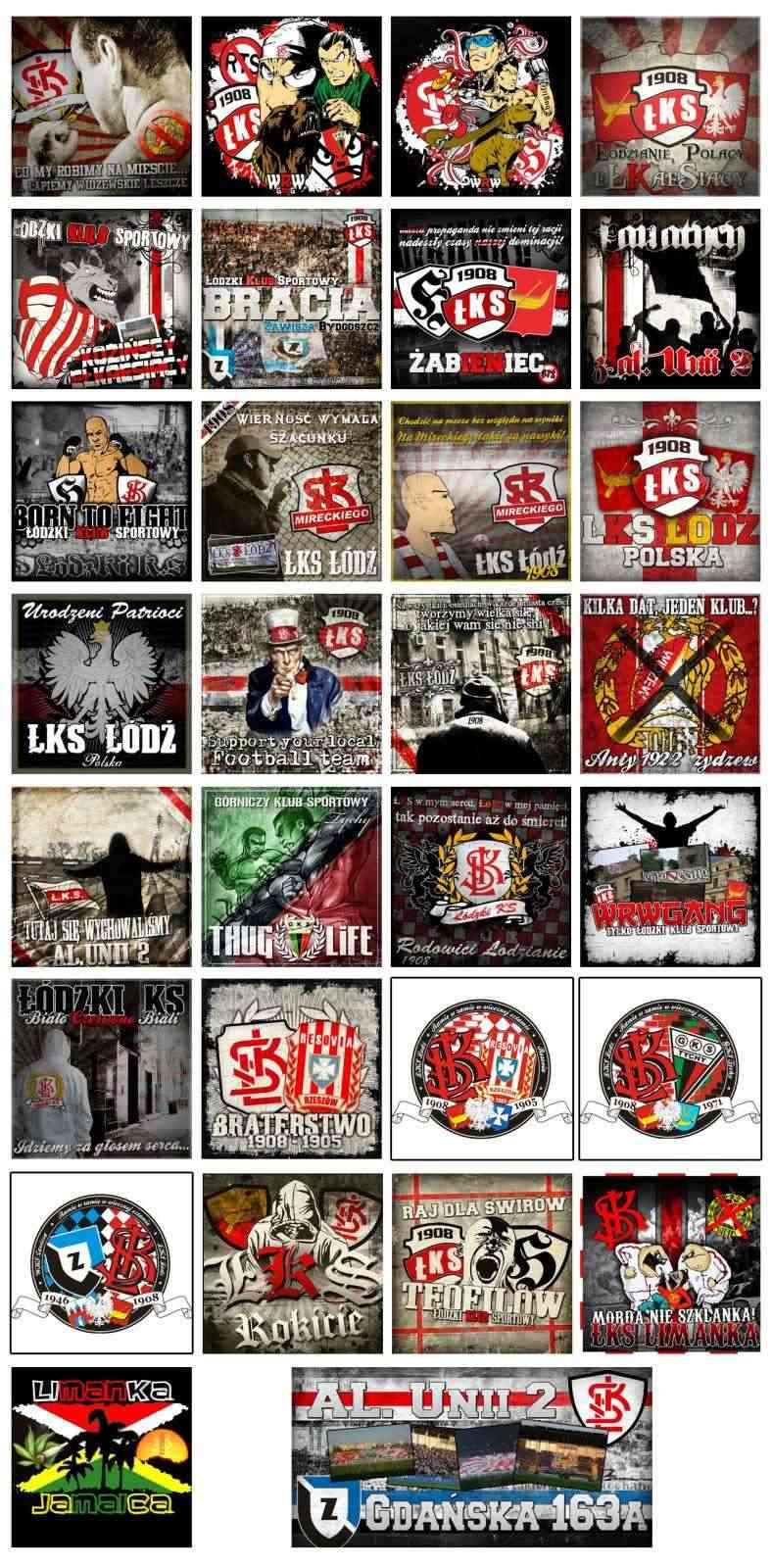 Stickers from your club/country 200910