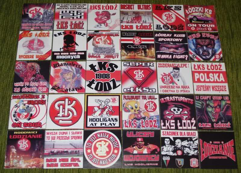 Stickers from your club/country 35lg1910