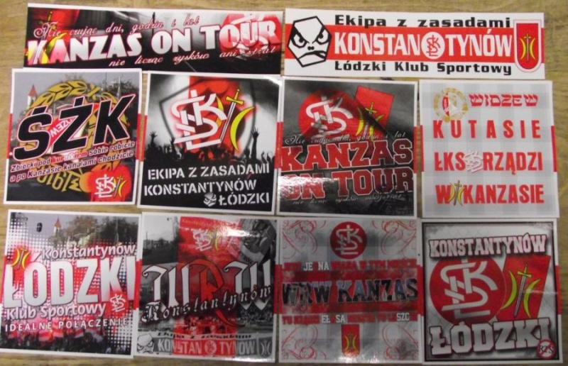 Stickers from your club/country Vlepki10