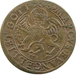 Nuremberg, jeton de compte au lion de Saint-Marc par Hans Krawinckel T01_0111