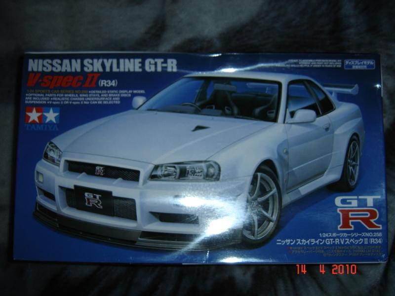 nissan skyline GTR 34  Dsc02310