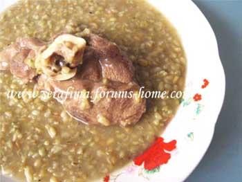 Шорба Фрика. Суп из обоженной пшеницы с бараниной. Араб.кухня 89142210