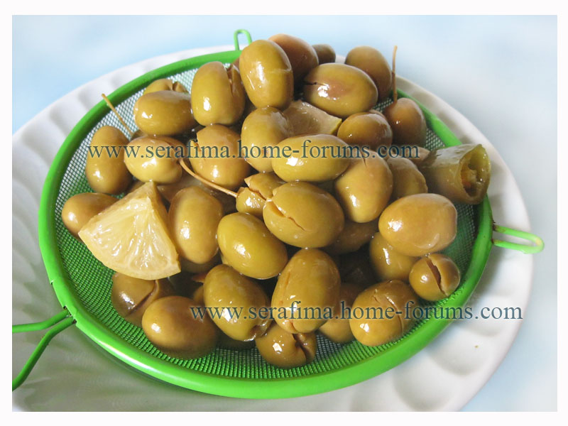 оливки - Облагораживаем консервированные оливки. Оливки в масле Img_1412