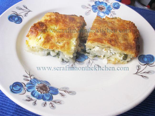 Турецкий пирог с белым сыром и петрушкой Img_1511