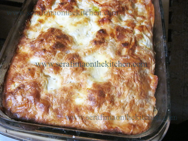 Турецкий пирог с белым сыром и петрушкой Img_1514