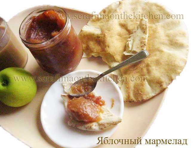 Как я готовила яблочный мармелад Pictu146