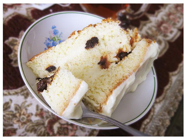 Вкусный торт  с черносливом и заварным кремом Pictu151
