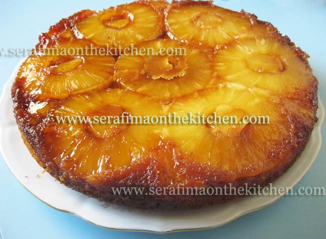 Ананасовый пирог-перевертыш с карамелью Pictur33