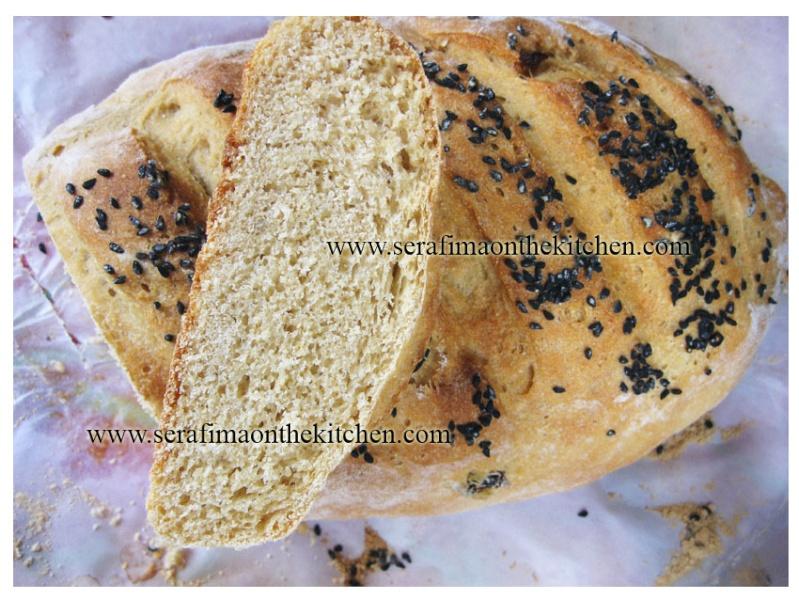 Хлеб с отрубями на пиве Zz210