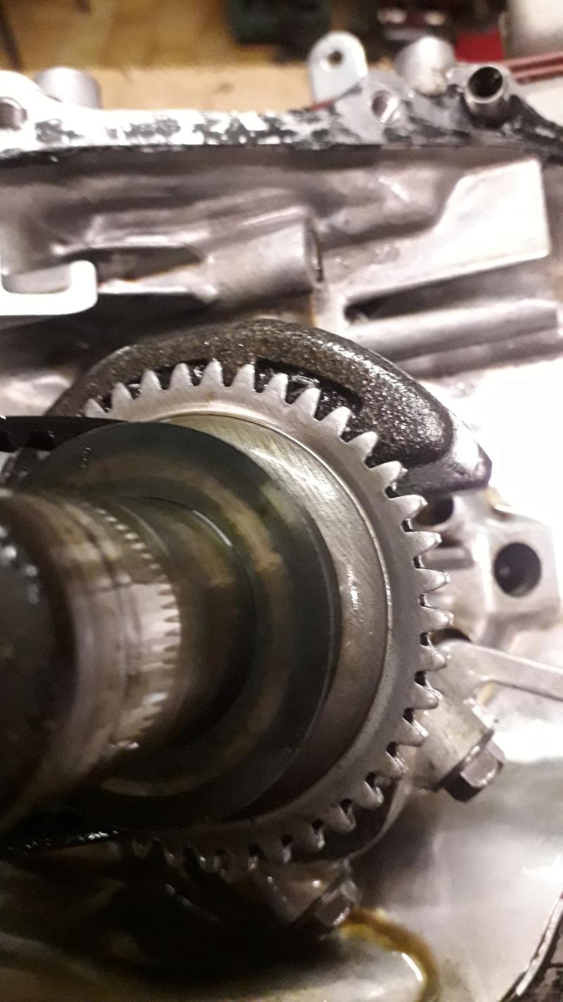Honda GCV160: usura ingranaggio regolatore centrifugo 20190914