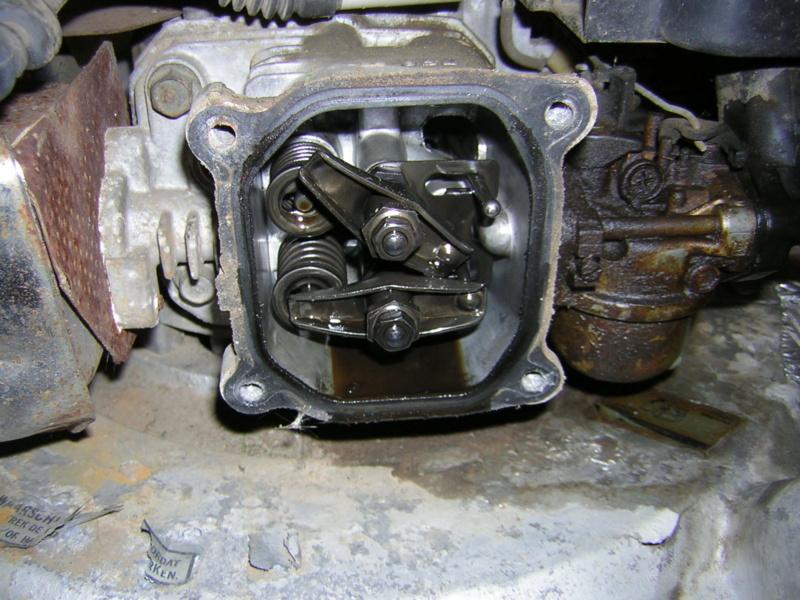 Motore Honda GXV120 su HR194 Dscn1120