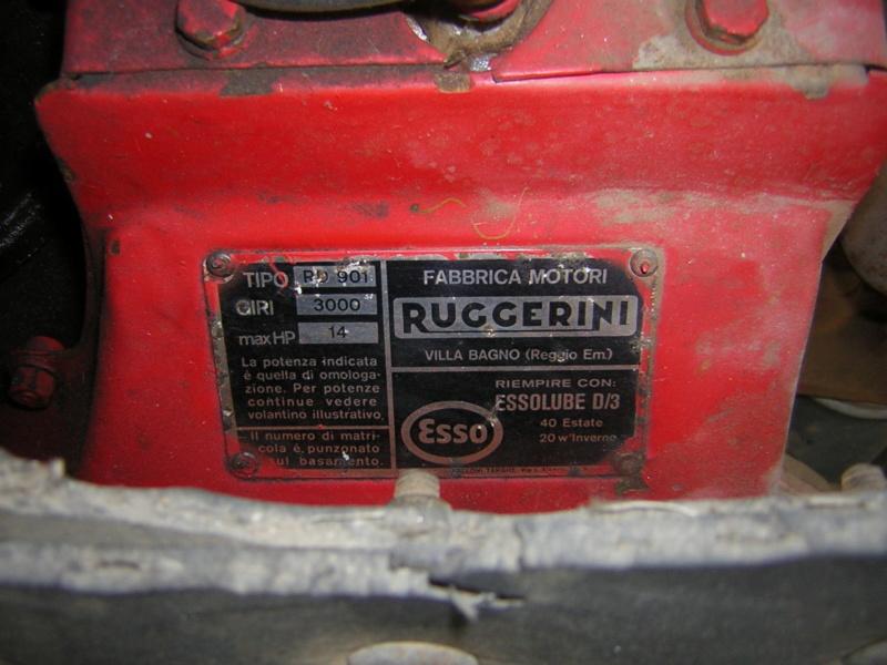 Motore Ruggerini RD 901 14 hp diesel Dscn1337