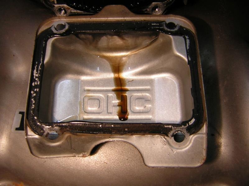 Honda GCV135: fuoriuscita cinghia distribuzione Dscn1394