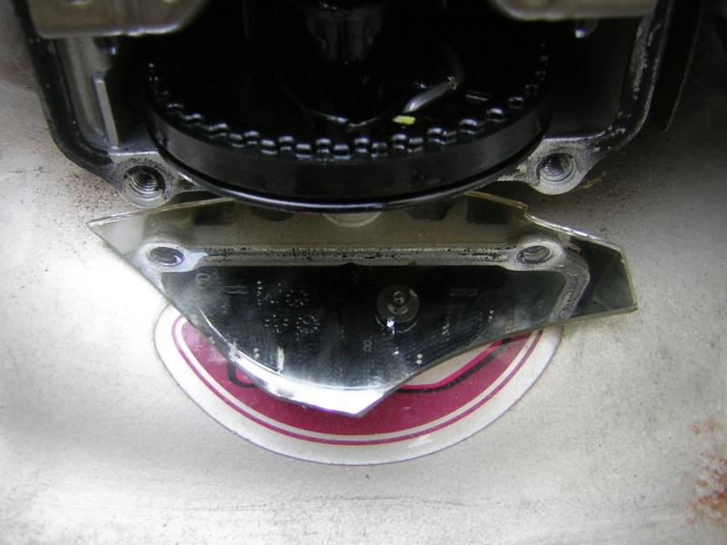 Honda GCV135: fuoriuscita cinghia distribuzione Dscn1396