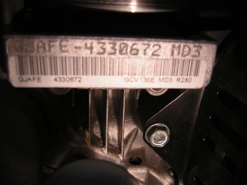 Motore Honda GCV135E Dscn1414