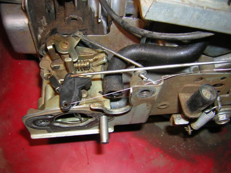Honda GCV135: tiranteria carburatore Dscn1519