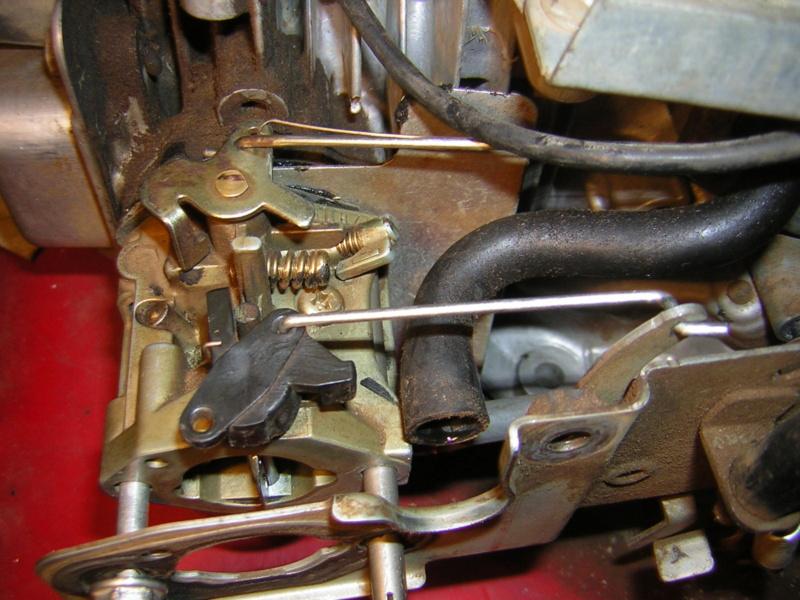 Honda GCV135: tiranteria carburatore Dscn1520