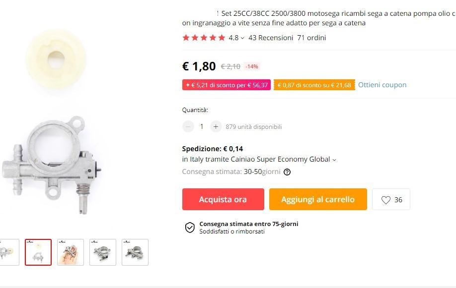 Pompa olio cina (scontrino 39.50 euro) ?!? Immagi11