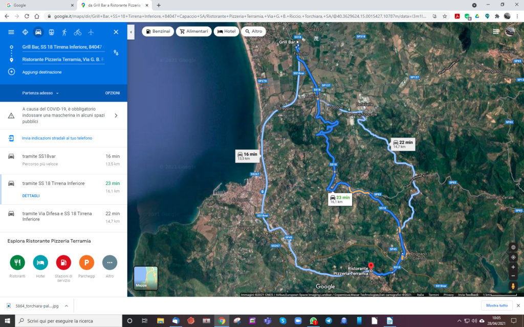Domenica 9 maggio 2021 - Passeggiata in Millecento a Torchiara (Sa) Screen18