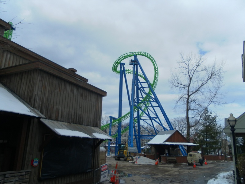 Goliath - Six Flags New England's Second Boomerang Coaster ... Samsun13
