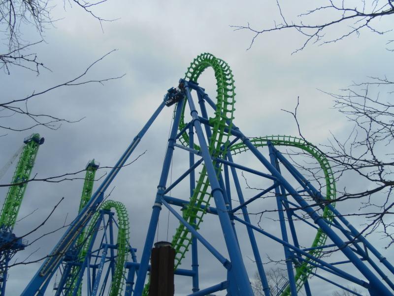 Goliath - Six Flags New England's Second Boomerang Coaster ... Samsun14