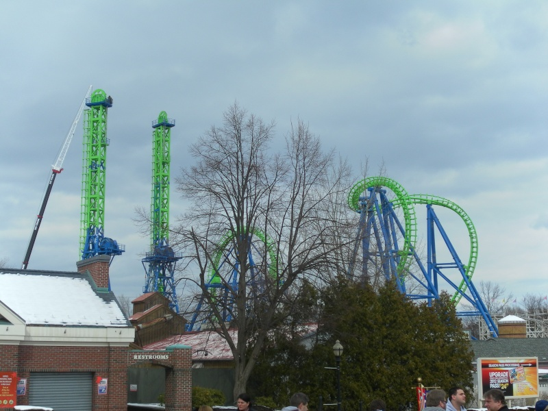 Goliath - Six Flags New England's Second Boomerang Coaster ... Samsun15