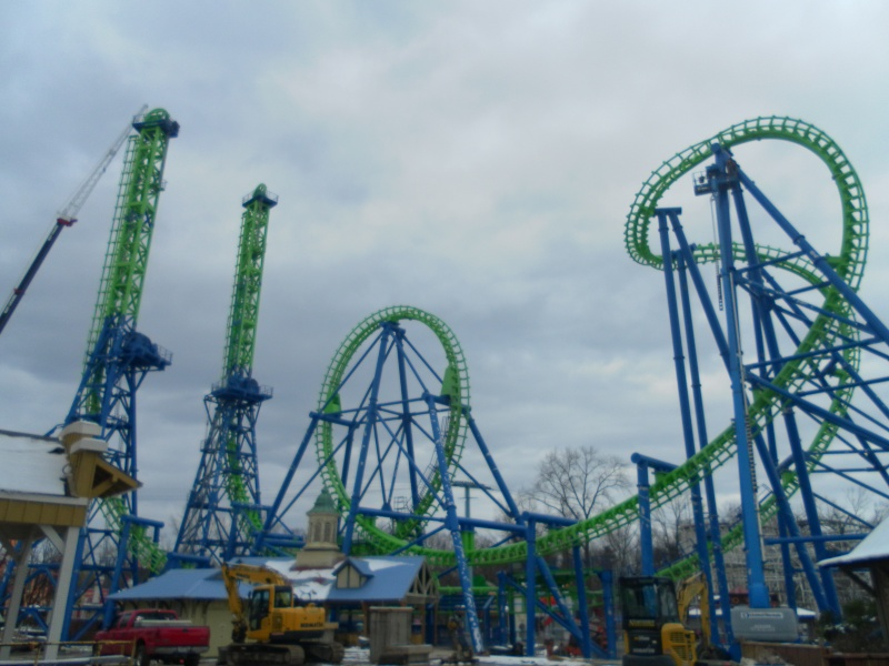 Goliath - Six Flags New England's Second Boomerang Coaster ... Samsun16